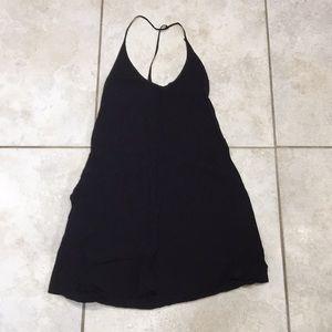 NWOT Reformation little black slip dress